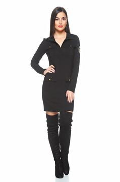PrettyGirl Battlefield Black Dress