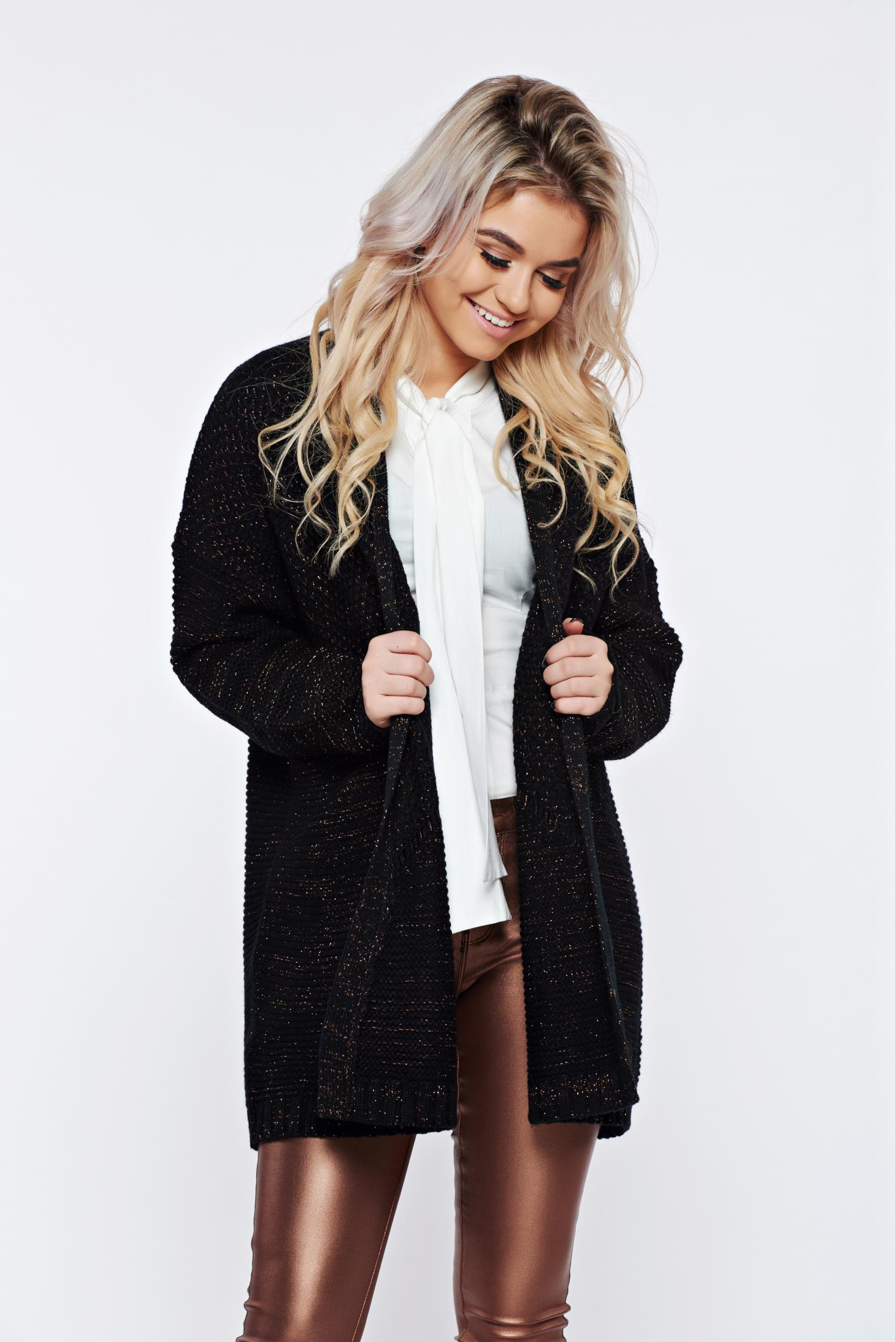 Cardigan Top Secret S025866 Black