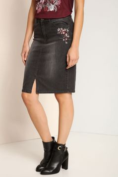 Top Secret S025891 DarkGrey Skirt