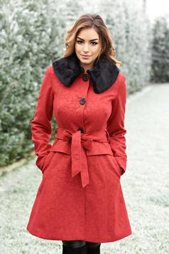 Artista Winter Style Red Coat