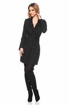 PrettyGirl Lovely Design Black Dress