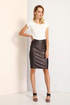 Top Secret S025970 Brown Skirt