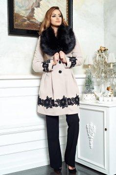 LaDonna Victorian Romance Cream Coat