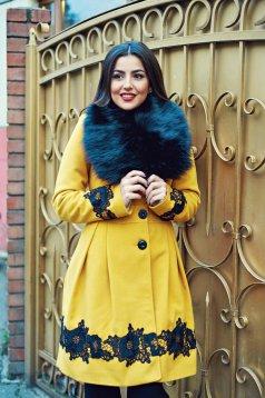 LaDonna Victorian Romance Yellow Coat