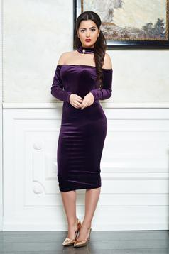 Artista Magnific Glow Purple Dress