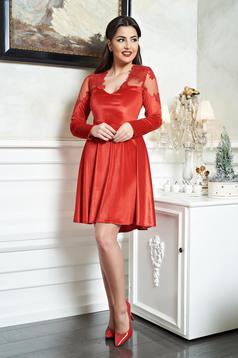 Sublime Serenity Red Dress