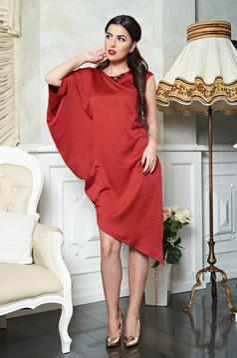 PrettyGirl Signature Burgundy Dress