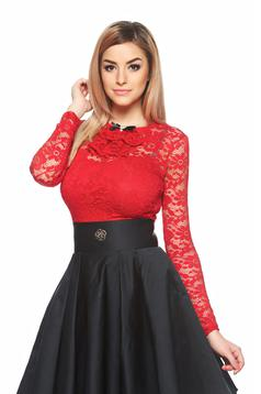 Fofy Laced Fantasy Red Body
