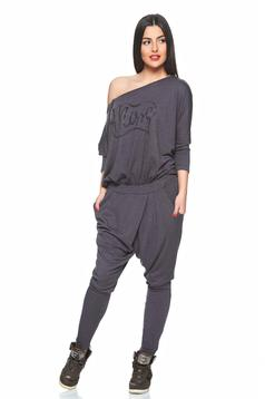 MissQ Fantastic Joy DarkGrey Jumpsuit