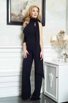 Ana Radu Miss Brilliance Black Jumpsuit