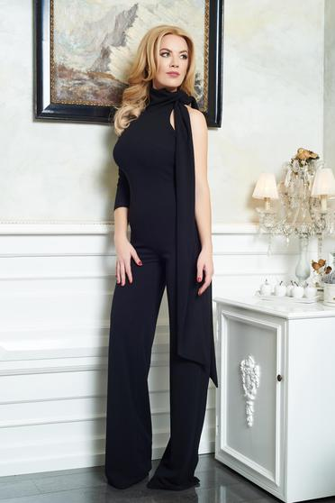 Ana Radu Miss Brilliance Black Jumpsuit