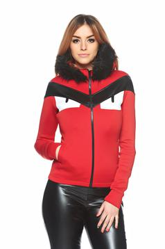Ocassion Greatest Look Red Jacket