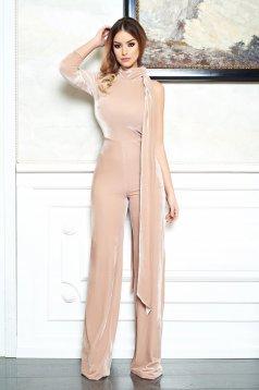 Ana Radu Elegant Look Cream Jumpsuit
