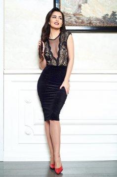 Fofy Admirable Lady Black Dress