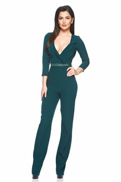 Hot Elixir Green Jumpsuit