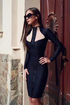 Ocassion Catchy Look Black Dress