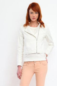 Top Secret S026354 Cream Jacket