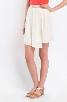 Top Secret S026394 White Skirt