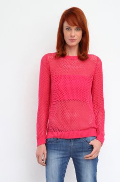 Top Secret S026503 Pink Sweater