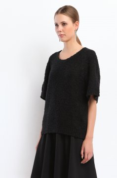 Top Secret S026529 Black Sweater