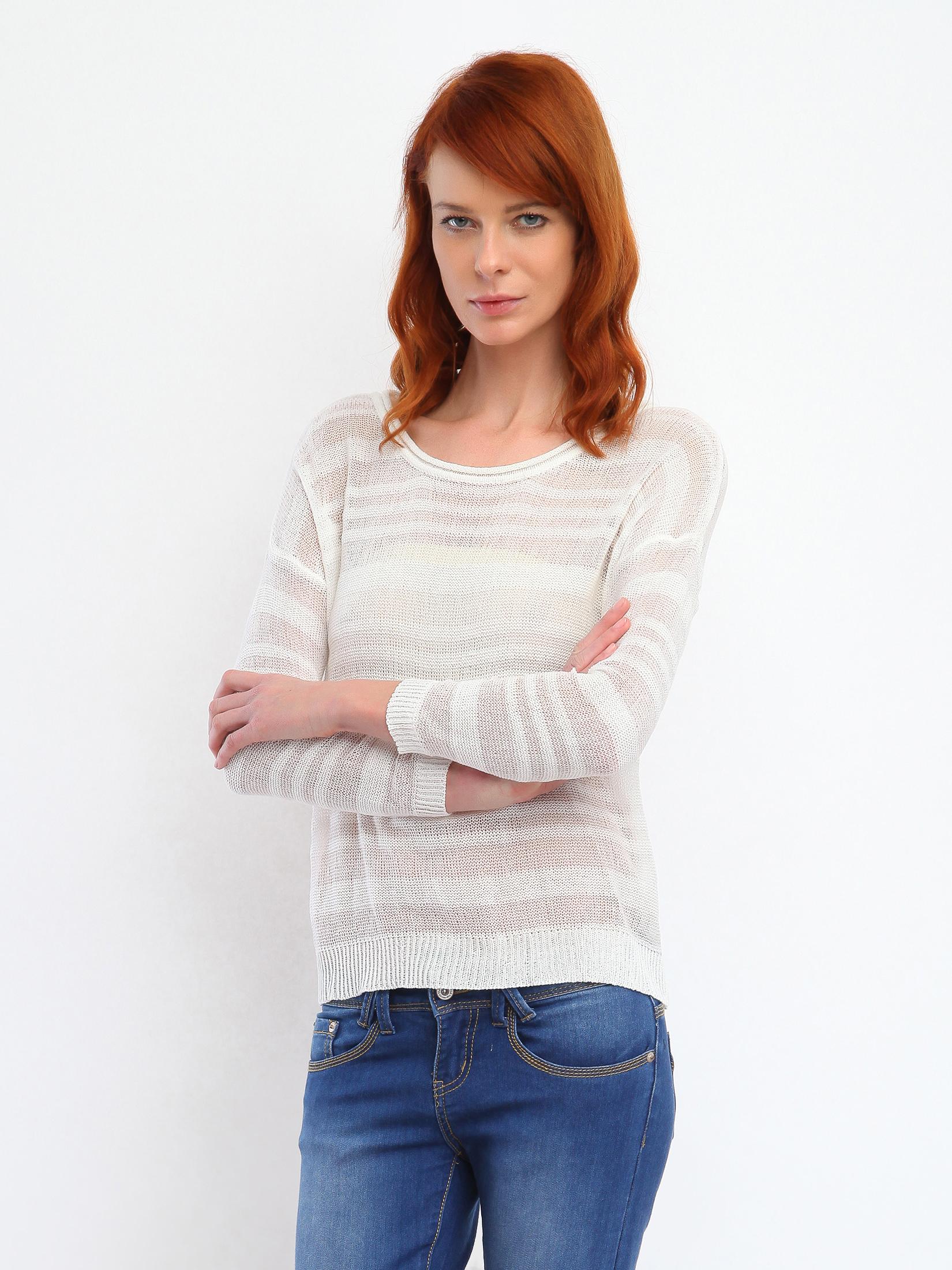 Top Secret S026815 White Sweater