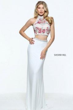 Sherri Hill 51059 White Dress