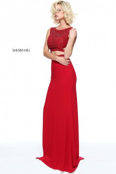 Sherri Hill 50805 Red Dress