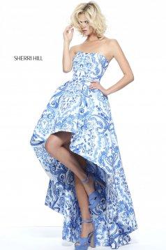 Sherri Hill 51097 White Dress
