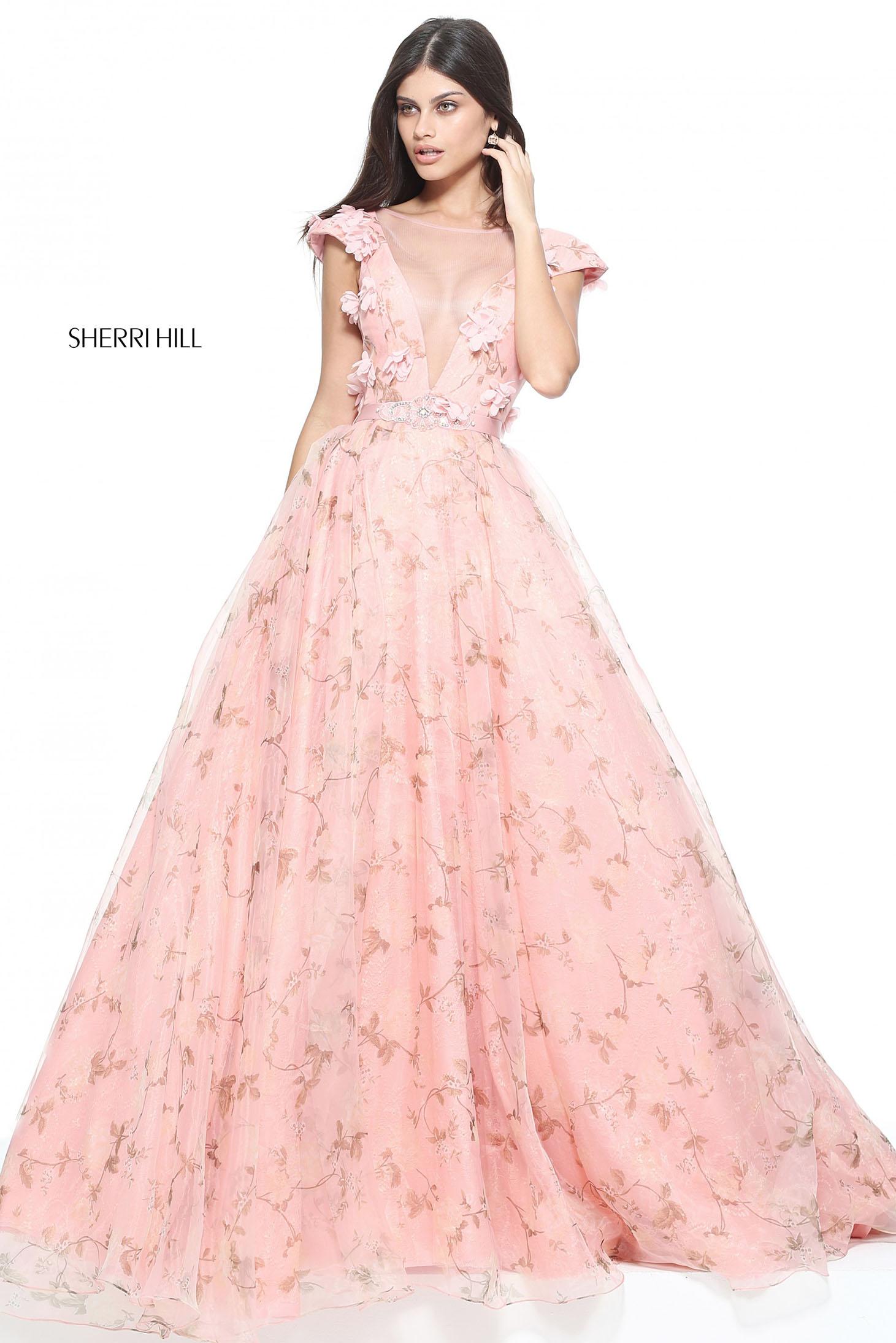 Sherri Hill 51104 LightPink Dress