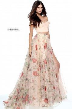 Sherri Hill 51214 Nude Dress