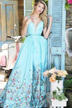 Sherri Hill 51232 LightBlue Dress