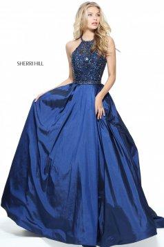 Sherri Hill 51242 DarkBlue Dress