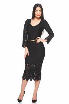 PrettyGirl Lady Trust Black Dress