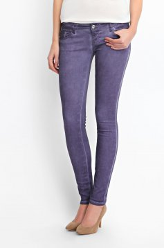Top Secret S027423 Purple Trousers