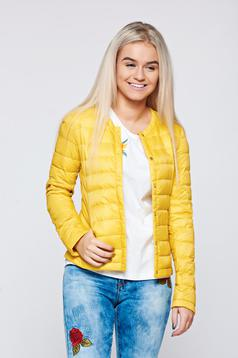 Top Secret casual yellow inside lining jacket with pockets