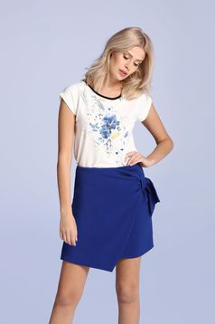 Top Secret S027580 Blue Skirt