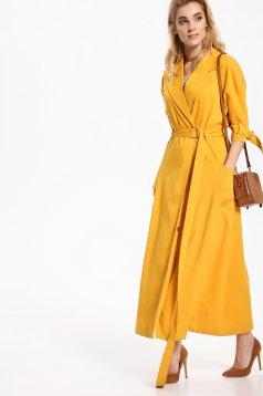 Top Secret S027601 Yellow Coat