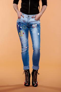 Inspirational Blue Jeans