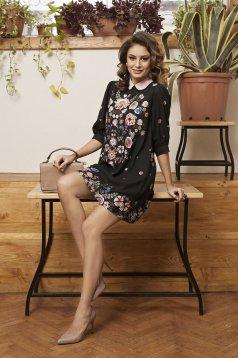 PrettyGirl Spring Affair Black Dress