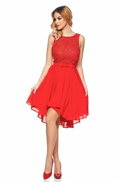 StarShinerS red occasional cloche dress with floral print