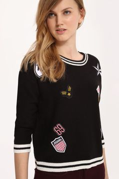 Top Secret S027729 Black Sweater