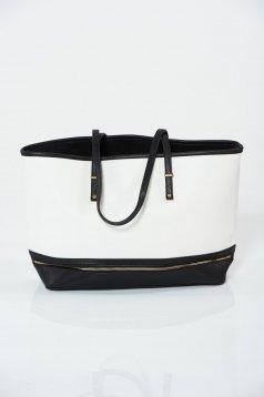 Black bag office zipper accessory