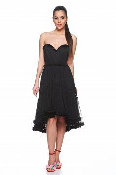Ana Radu Pretty Flame Black Dress