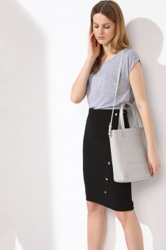 Top Secret S027928 LightGrey Top Shirt