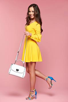 Artista Beautiful Spring Yellow Dress