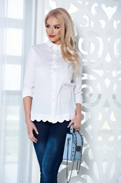 PrettyGirl Famous Touch White Shirt