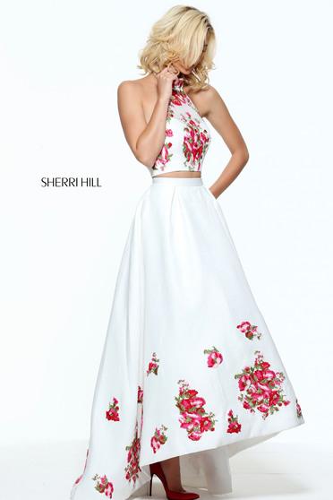 Sherri Hill 51042 White Dress