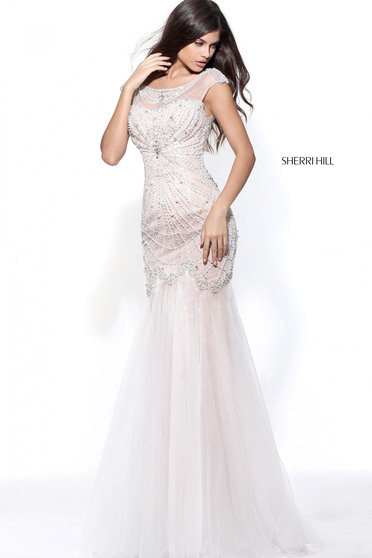 Sherri Hill 51046 White Dress