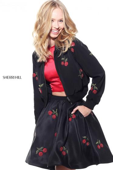 Sherri Hill J51175 Black Dress
