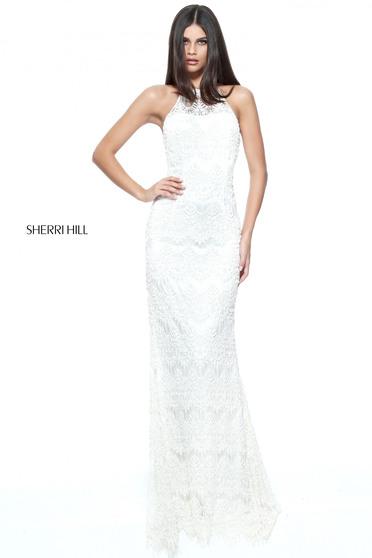 Sherri Hill 51184 White Dress